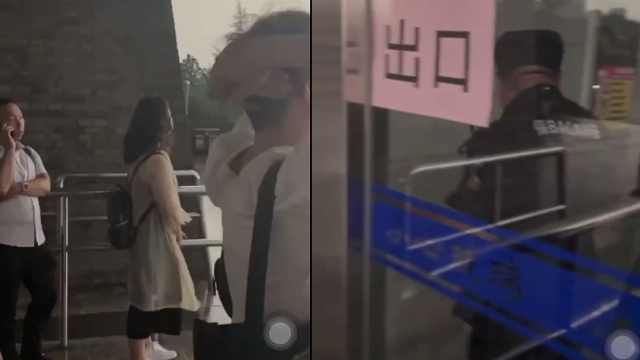 读者在图书馆避雨遭保安锁门驱赶,馆方:做法