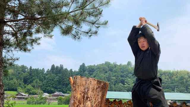 日本首位忍者专业硕士生毕业,还学了武术和种菜
