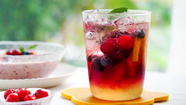 必学的3款夏日饮品,让你一次喝个够!