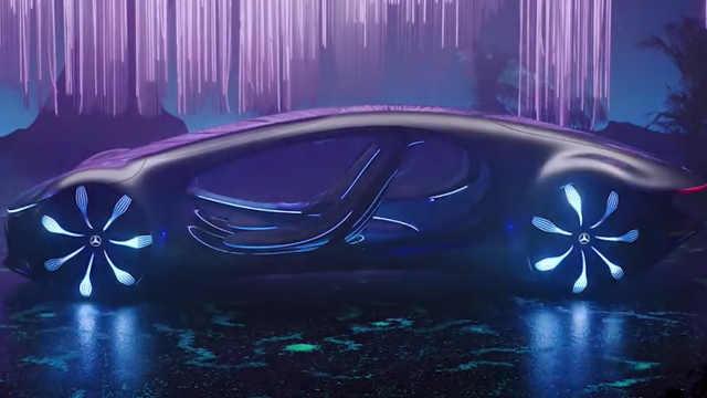 奥迪Q4概念车预告,盘点那些来自未来的汽车