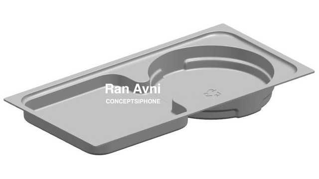 iPhone12包装盒渲染图:没有耳机和充电器的位置