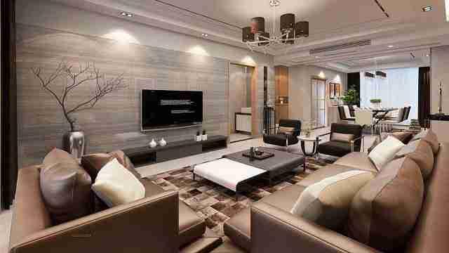 电视背景墙该如何设计?设计师强烈推荐这3种!美观又实用!