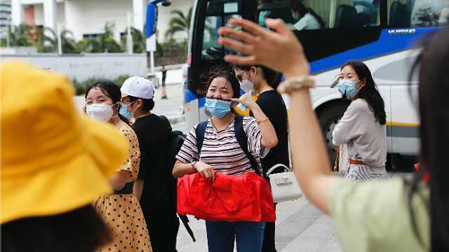 南山再次护航歌诗达威尼斯号邮轮310名中国船员解除隔离回家