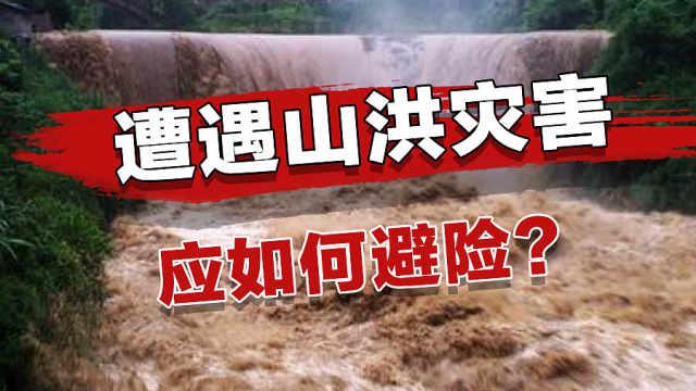 遇到山洪灾害该如何自救?