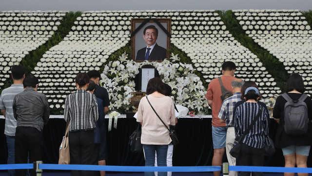 首尔宣布彻查已故市长性骚扰案,警方此前因市长死亡结束调查