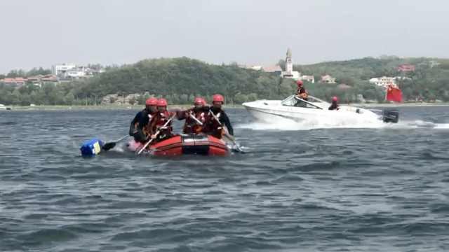 水域救援队每年出警30起:夏季属于高发期,救上遇难者也会哭