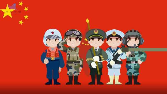 """""""辉煌70年""""强军之路系列动画一:新中国第一次阅兵"""