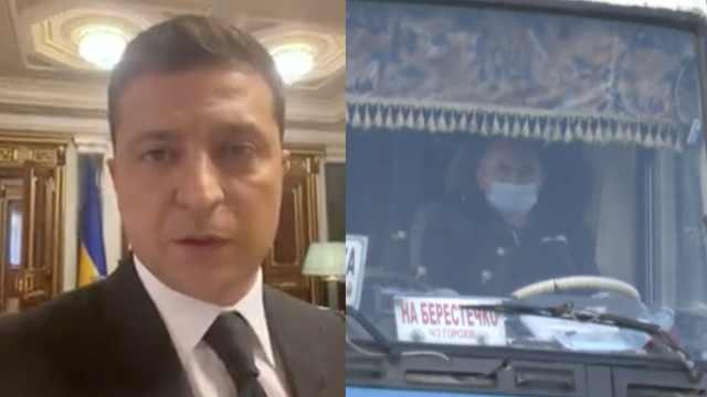 携武器炸弹劫大巴,乌克兰绑匪要求总统推荐电影,满足后放人