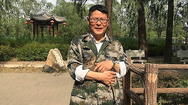 郭耕|与麋鹿为伴的科普教授