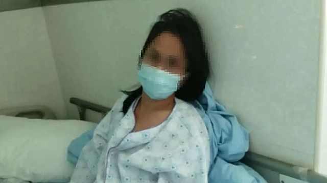 母亲触电倒地女儿教科书式急救:拉电闸后做心肺复苏