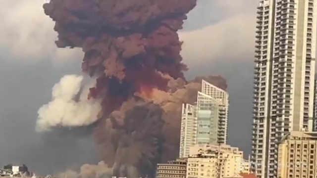 直播:超100人死亡4000余人受伤,黎巴嫩特大爆炸救援中