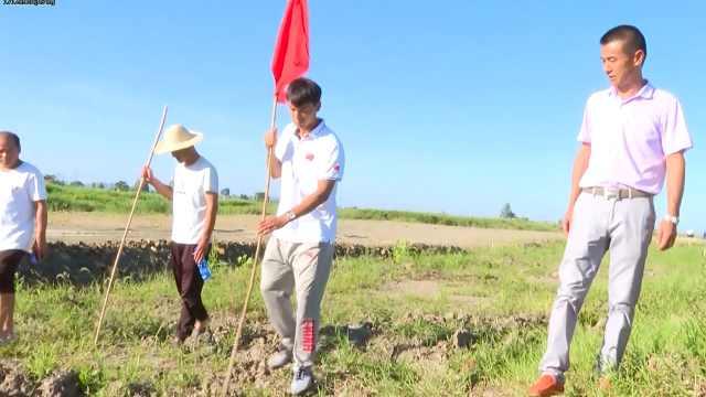 世锦赛冠军吕凡普婚礼结束上堤防汛