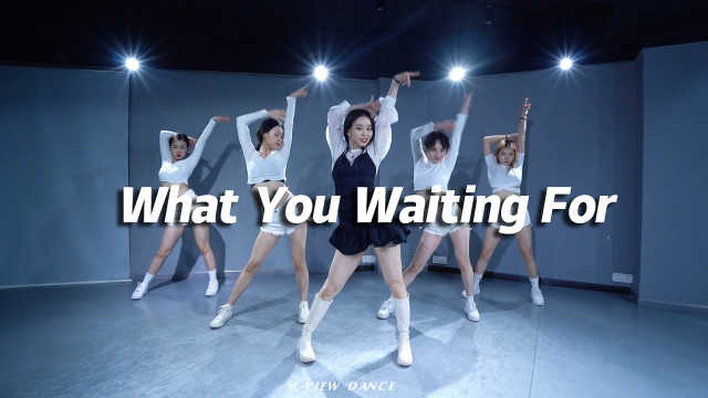 苗苗翻跳SOMI《What You Waiting For》,甜美快速达