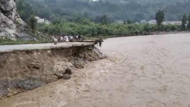 陕西洛南暴雨致5人死亡10人失联,直接经济损失约15亿元
