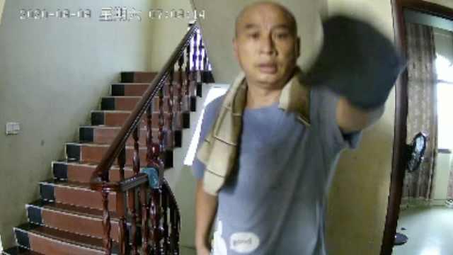 江西入室杀人案受害者家属发声,监控拍下嫌犯曾春亮入室画面