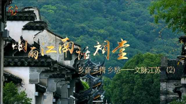 文脉江苏:烟雨江南话祠堂