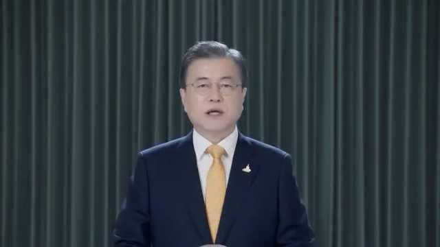 韩国举行慰安妇纪念日仪式,文在寅视频寄语: