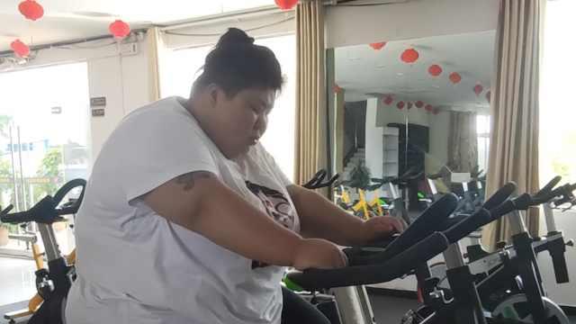 瘦身男女|436斤宝妈2月甩肉78斤:坐坏多把椅子,睡特制床