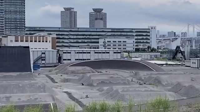 """直播:杂草丛生比人高,探访疫情下东京奥运""""无人场馆"""""""