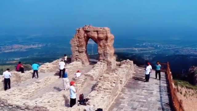 山西明长城标志性景观月亮门完成修复,即将重新开放