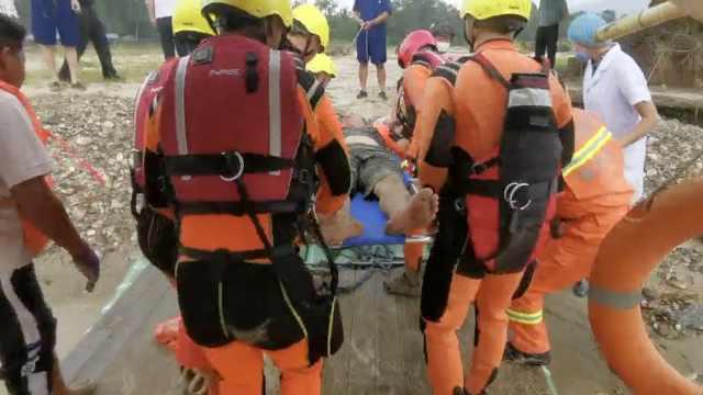 云南盈江一皮划艇侧翻,6人落水3人仍失联