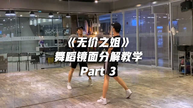 白小白编舞《无价之姐》舞蹈镜面分解教学Part 3