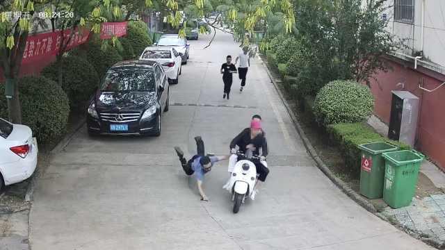 民警回应飞扑拦截嫌犯多处摔伤:当时只想抓人