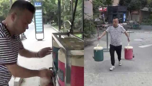 杭州一茶老板开奥迪Q7摆茶摊,龙井明前茶免费喝,日用1斤茶
