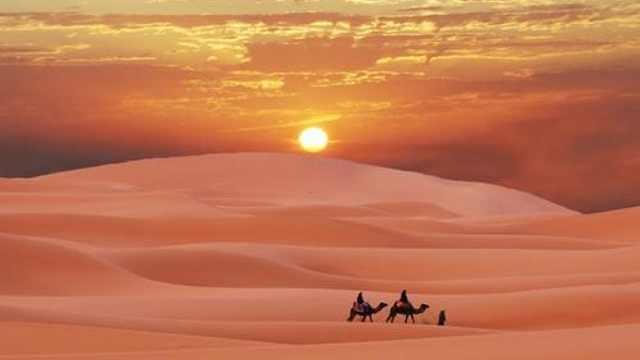 宁夏沙坡头:诗人别后的大漠传奇,古今历史的