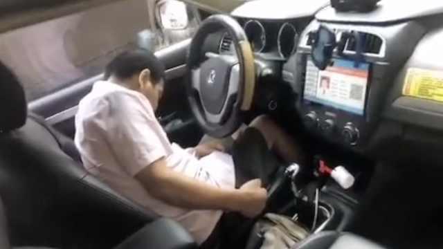 武汉一出租车司机车内猝死,公司负责人:监控显示事前无异常