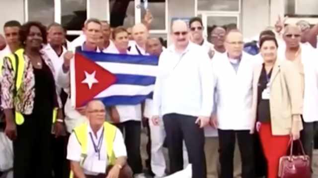 推行医疗外交!古巴向近40国派遣抗疫医生,被赞