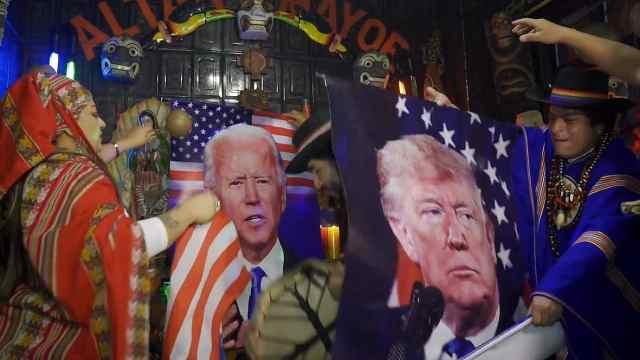 秘鲁萨满巫师预测美国大选:特朗普连任,拜登要赢只能靠巫术