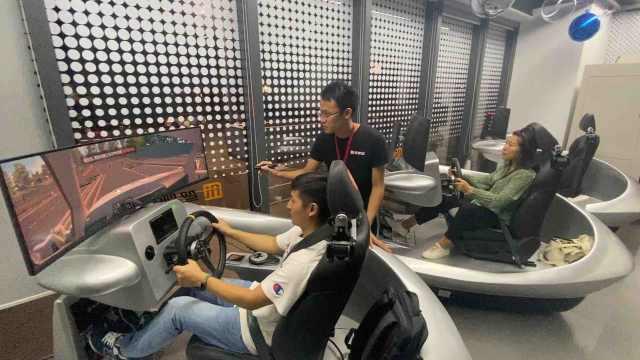 AI驾校上线,妈妈还担心你练不会车吗?