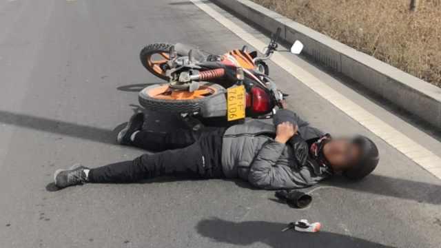 男子骑车被风筝线割脖索赔5万遭拒,肇事方:他乱要价
