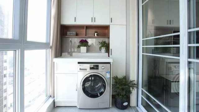 """阳台摆放""""洗衣机"""",注意这4个地方,早了解不后悔!"""