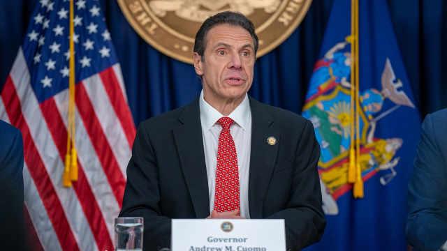 纽约州长称不相信联邦政府:要推出独立疫苗分配实施计划
