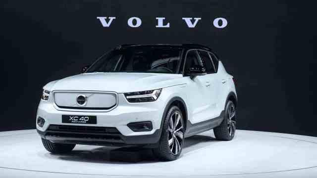 沃尔沃再推新能源车型,这次颜值达到新高度