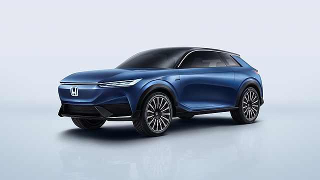 大步迈向电气化时代,本田纯电动概念车全球首发