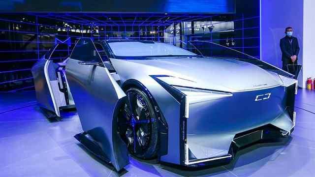 MILESTONE概念车首发,以后的观致长这样?