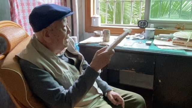 9旬抗战老兵自愿捐遗体:割了肺还活这么久,拿去做研究