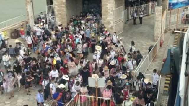 强冷空气来袭,涠洲岛停航2天紧急疏运2万游客