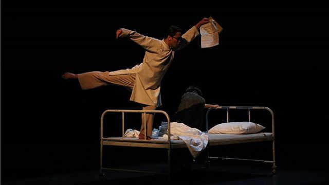 舞剧《朱自清》震撼上演,他就是中华大地上那个大写的人字