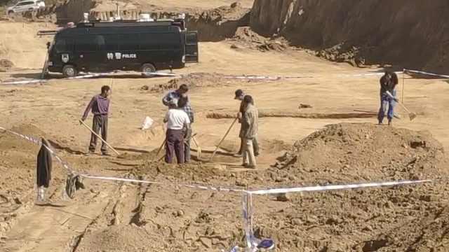 实探甘肃因施工遭损毁古墓葬,考古人员:主体被毁,壁画消失