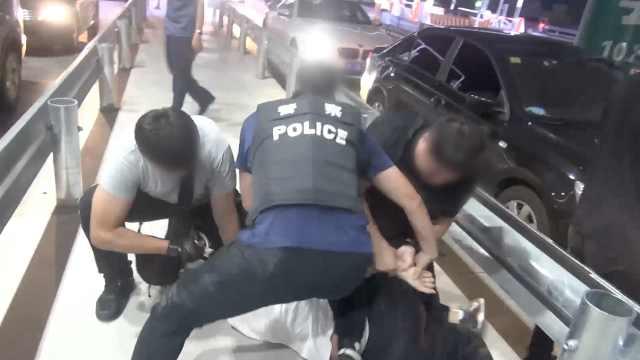 抓捕现场!缉毒警深夜伏击跨省贩毒团伙,2个月抓15人