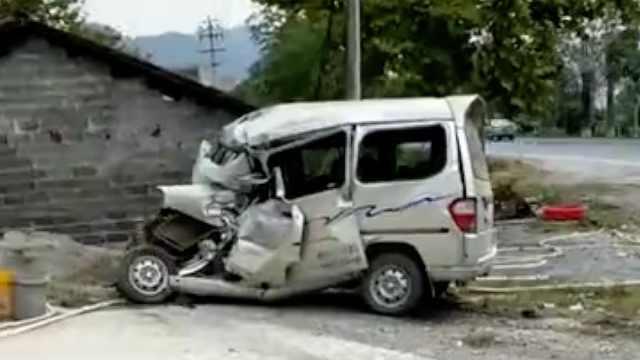 江西一客车与面包车相撞致7死1伤:两车均无超员,原因调查中