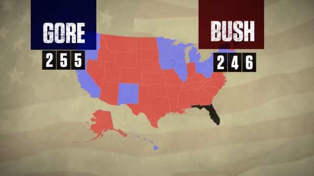 美国2000年总统大选计票风波:持续36天,官司打到高法