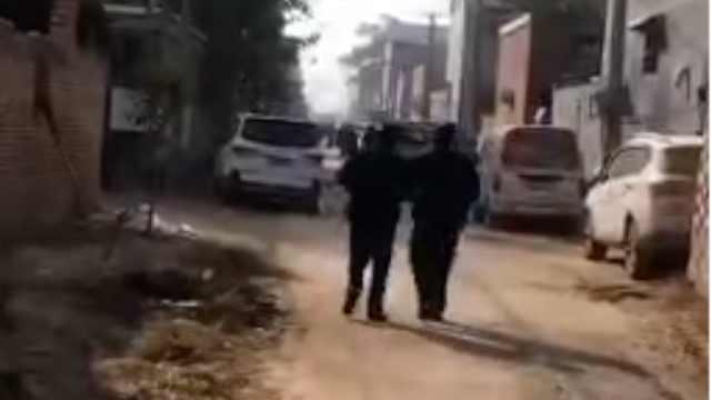 河南原阳一农家6人被杀嫌犯在逃,村民:凌晨发生,2人幸存
