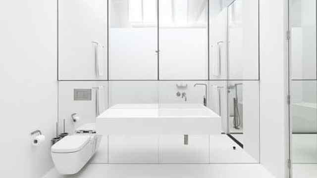 3㎡卫生间4种设计,干湿分离还有这种操作?淋浴房都省了!
