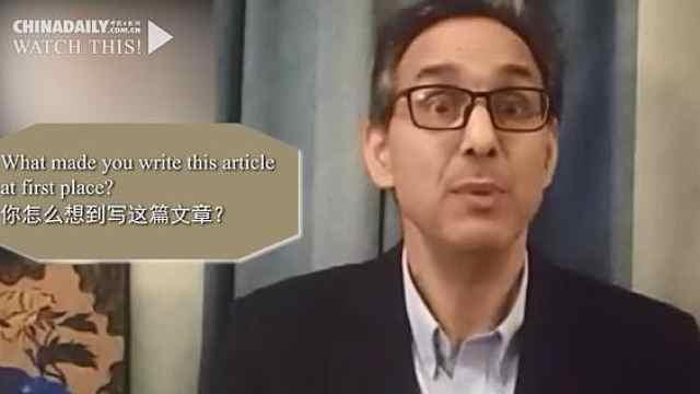 中国抗疫努力被诋毁,美国作家:厌倦了西方媒体抹黑中国