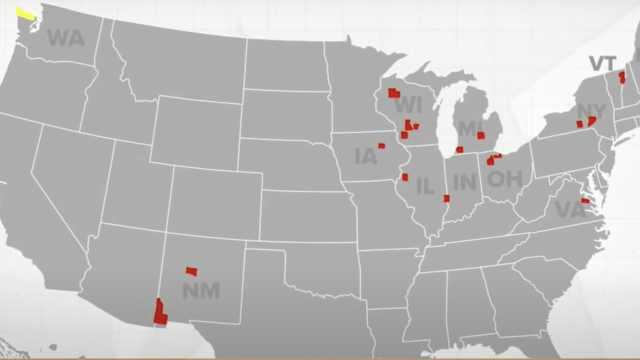 美国这个偏远县城连续40年投给最终胜选总统,全国唯一